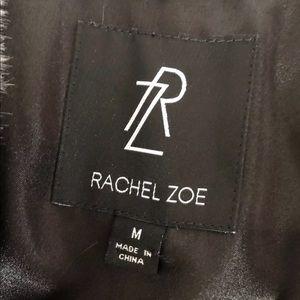 Rachel Zoe Jackets & Coats - RACHEL ZOE FAUX FUR STRIPED VEST SZ M